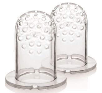 Kidsme Food Feeder Silikonrefilll, Medium, 2 pk