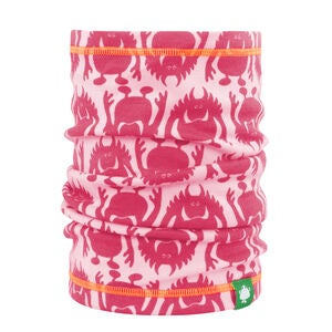 Vossatassar Monsterull Halsvarmer, Light Pink