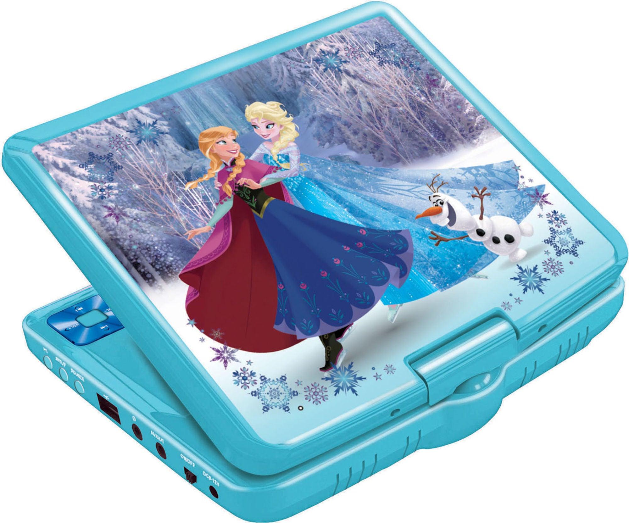 Dizney Frozen Portabel DVD-spiller