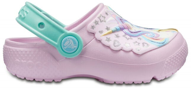 Crocs Fun Lab Clogs, Pink/Mint