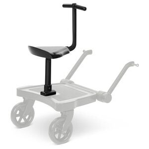 ABC Design Kiddie Ride On 2 Sete til Ståbrett, Black