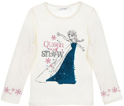 Disney Frozen T-Skjorte, Off White