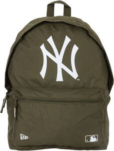 New Era MLB NYY Ryggsekk 16L, New Olive/White