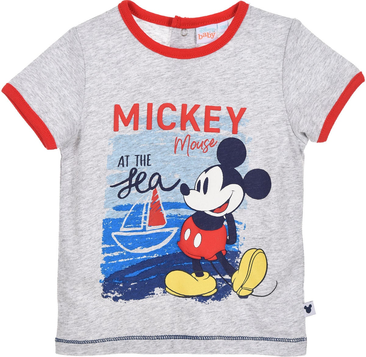Disney Mikke Mus T-Skjorte, Light Grey