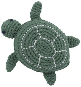 Sebra Triton The Turtle Heklet Rangle, Seaweed Green