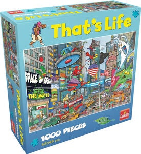 Goliath Games Puslespill That's Life - New York 1000 Brikker
