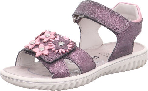 Superfit Sparkle Sandal, Grey