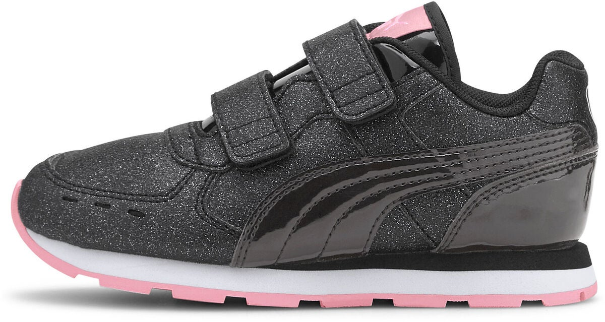 Puma Vista Glitz V PS Sneaker, Black