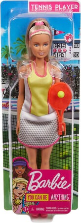 Barbie Dukke Tennis Player