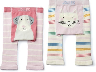 Tom Joule Lively Leggings 2-pack, Multi Dog Cat