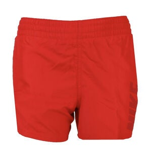 Nike Swim Logo Solid Badeshorts, Univeristy Red