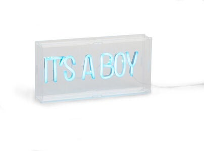 Childhome Neon Light Box It's A Boy