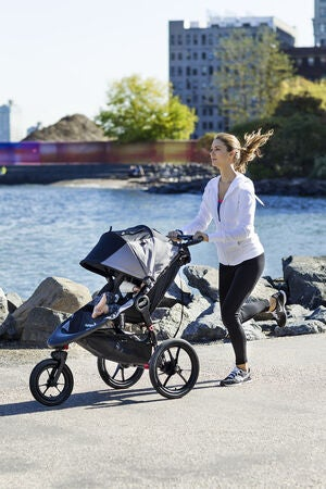 Baby Jogger Joggevogn Summit X3 Single, Black/Grey