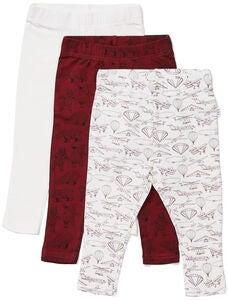 Luca & Lola Lexi Leggings 3-pack, Red