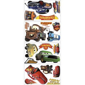 RoomMates Wallstickers Disney Cars