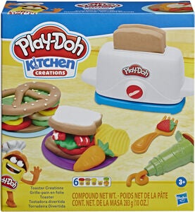 Play-Doh Lekeleire Toaster Creations