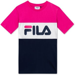 FILA Classic Day Blocked T-Shirt, Pink