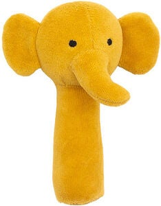 Jollein Rangle Elephant, Mustard