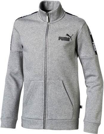Puma Amplified Track Jakke, Medium Grey Hea