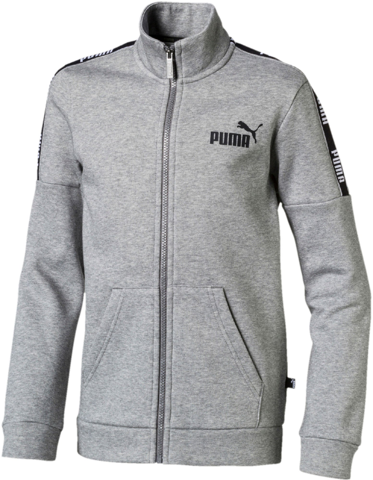 Kjøp Puma Amplified Track Jakke, Medium Grey Hea   Jollyroom