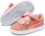 Puma Smash V2 Ribbon AC PS Sneaker, Pink