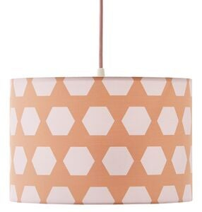 Kids Concept Taklampe Hexagon, Aprikos