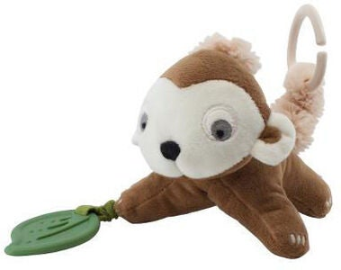 Sebra Maci the Monkey Aktivitetsleke, Almond Brown