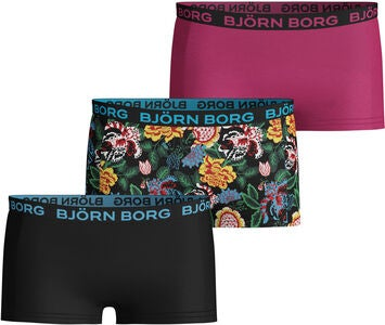 Björn Borg Truse 3-pack, Black Beauty
