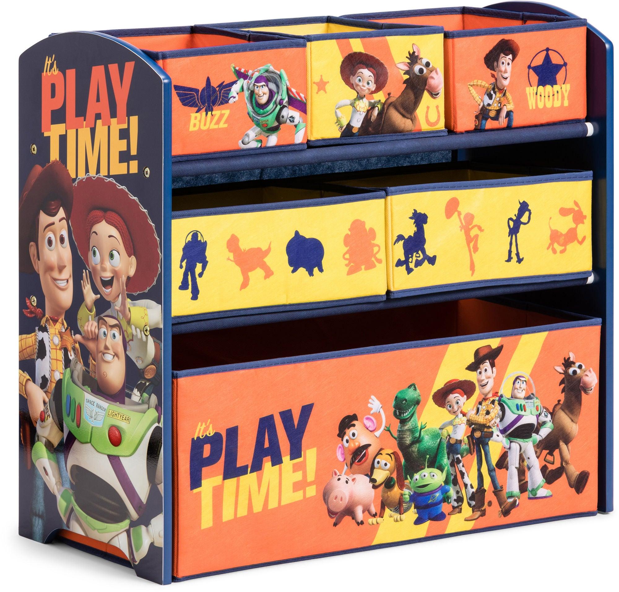 Toy Story Oppbevaringshylle 6 esker Tre