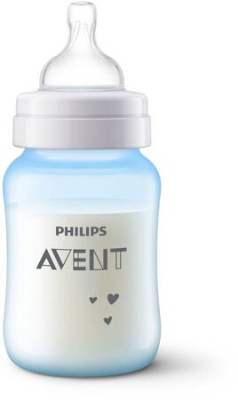 Philips Avent Anti-Kolikk Tåteflasker 260ml, Blå