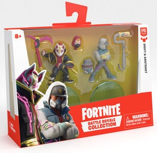 Fortnite Battle Royale W2 Figurer Drift & Abstrakt Duo Pack S1