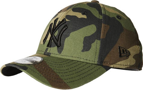 New Era Kids Kaps, Woodland Camo Black