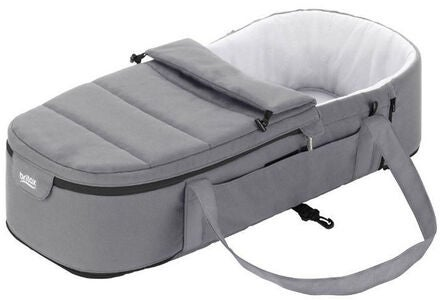 Britax GO BIG Vognbag Soft Carrycot, Steel Grey