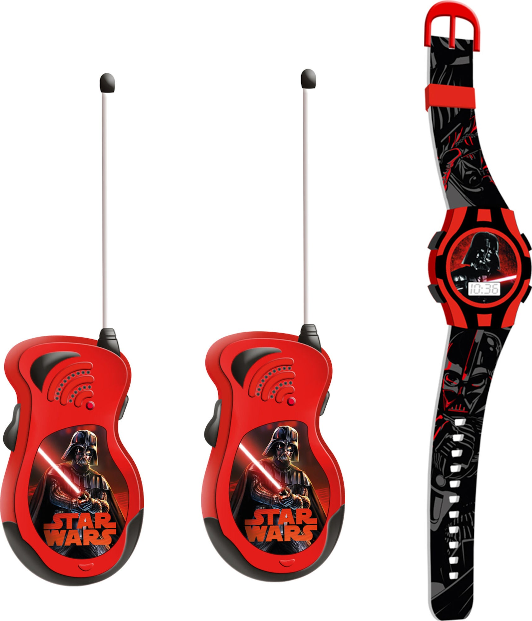 Star Wars Walkie Talkies Og Klokke
