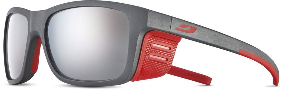 Julbo Cover Spectron 4 Baby Solbriller, Dark Grey/Red