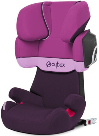 Cybex Solution X2-Fix Silver Line Beltestol, Purple Rain