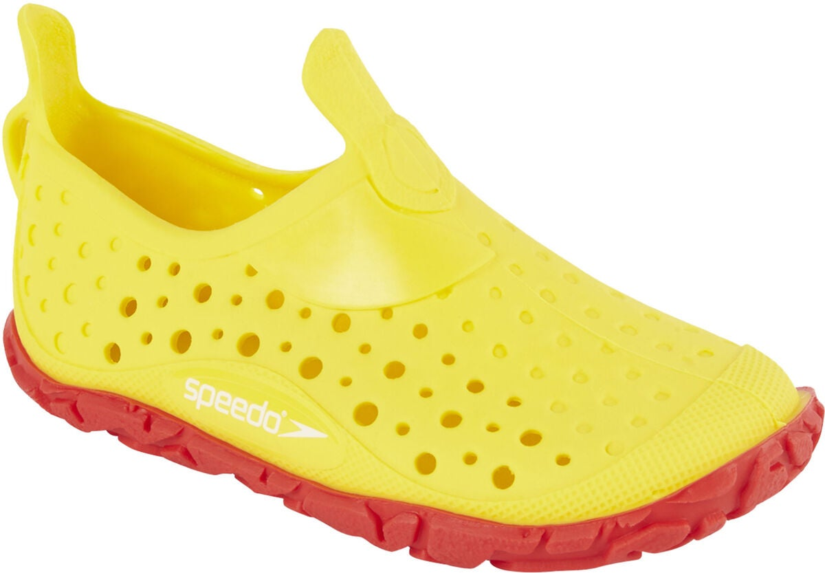 Speedo Jelly Infant Badesko, Yellow/Red