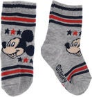 Disney Mikke Mus Sokker, Light Grey