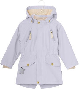 Mini A Ture Vigga Jakke, Purple Heather