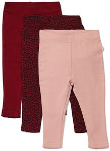 Luca & Lola Lexi Leggings 3-pack, Red Leo