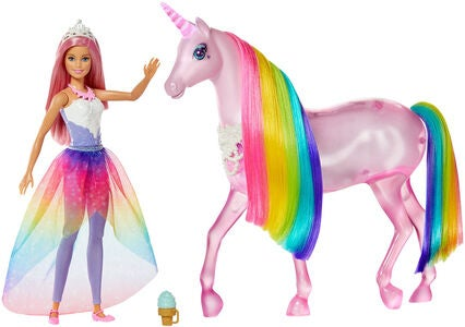 Barbie Dreamtopia Magical Lights Unicorn