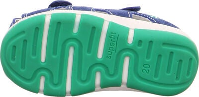 Superfit Freddy Sandal, Blue/Green