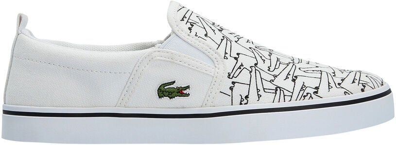 Lacoste Gazon 318 Sneaker, White/Black