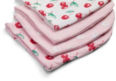 Tiny Treasure Sarah Lue 4-Pack, Pink