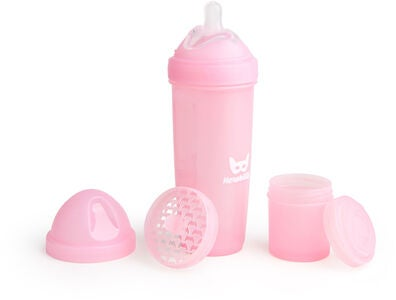 Herobility Baby Bottle Tåteflaske 340 ml, Rosa