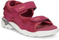 ECCO Biom Raft Sandaler, Red Plum