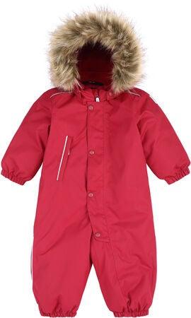 Reimatec Gotland vinterdress til baby, Lingonberry red
