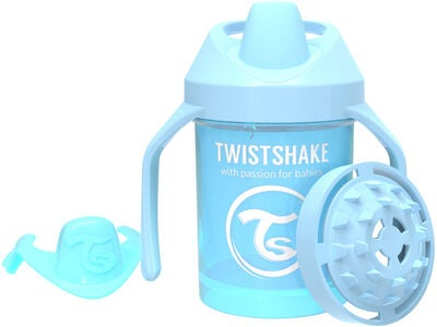 Twistshake Mini Cup Babykopp 230 ml, Pastellblå