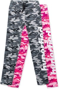 Hyperfied Track Tights 2-pack, Camo Black/Camo Pink