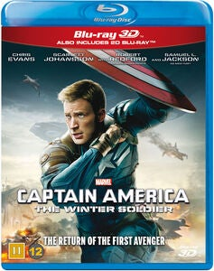 Marvel Avengers Captain America The Winter Soldier Blu-Ray 2D + 3D
